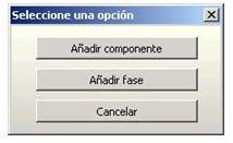 seleccion opcion