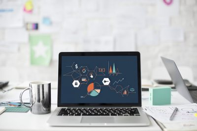 ordenador, gráficos, industria conectada