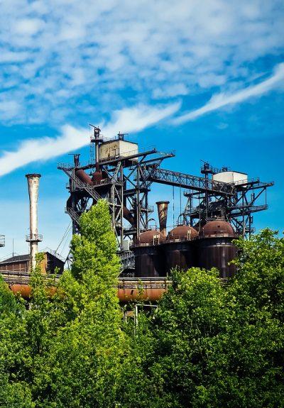 Industria, Producción, Aire libre